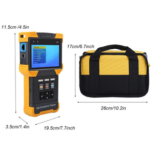 Image 5 - Test Monitor DT T71 HD 1080P IP CCTV Camera Tester Security Combine Test Monitor TDR ONVIF Security Video Cam tester