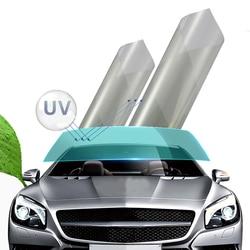 76Cm X 1.5M Clear 80% Vlt Auto Voorruit Voorruit Tinten Voorruit Solar Film Roll