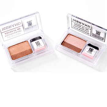 1PC 2 Colors Matte Shimmer Eye Shadow Lazy Eyeshadow Korean Style Cosmetics Stamp Palette Nude Makeup Set Cosmetics Tool Newly