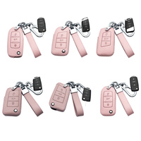 Leather Car Key Cover Case  4