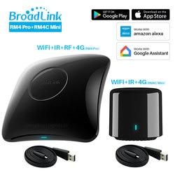 Broadlink RM4 Pro RM4C Mini 2020 Universal Intelligent Remote Controller Smart Home Automation Compatible Alexa Google Home