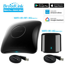 Broadlink RM4 Pro RM4C Mini 2020 Universele Intelligente Afstandsbediening Smart Home Automation Compatibel Alexa Google Thuis