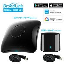 Broadlink RM4 פרו RM4C מיני 2020 אוניברסלי אינטליגנטי מרחוק בקר חכם בית אוטומציה תואם Alexa Google בית