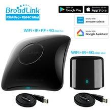 Broadlink controlador remoto inteligente Universal RM4 Pro RM4C Mini 2020, automatización del hogar, Compatible con Alexa, Google Home