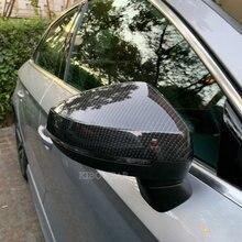 Para dla Audi A3 S3 8V RS3 lusterko boczne obejmuje czapki (wygląd węgla) 2017 zastąpić 2015 2016 2018 2013 2014 2019