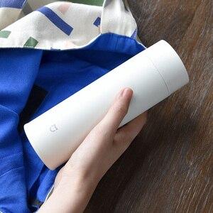 Image 3 - Xiaomi Mijia 350ml Paslanmaz Çelik Su Şişesi 190g Hafif Termos Vakum mini fincan Kamp Seyahat Taşınabilir yalıtımlı fincan