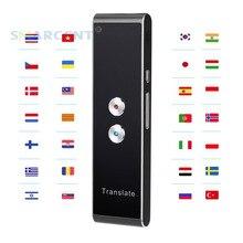 Портативный смарт-переводчик T8, двусторонний, в режиме реального времени, 39, многоязычный перевод для обучения, путешествий, деловых встреч