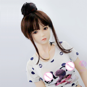 цена на 68cm 3D TPE silicone sex dolls robot japanese anime full oral love doll realistic adult for men toys big breast sexy mini vagina