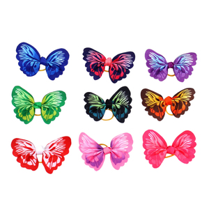 20pcs Pets Butterfly Headdress