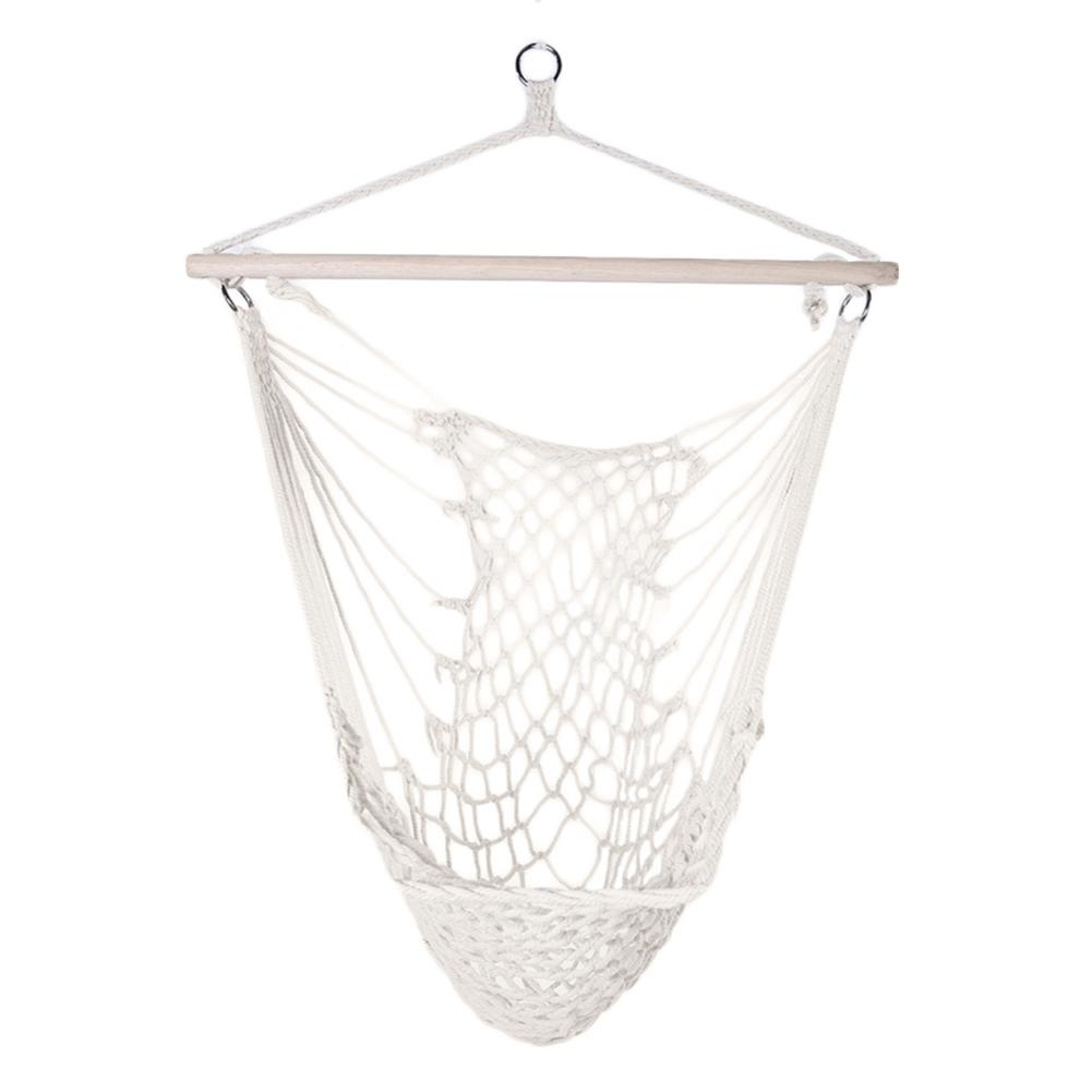 Cotton Hanging Rope Air/Sky Chair Swing for garden