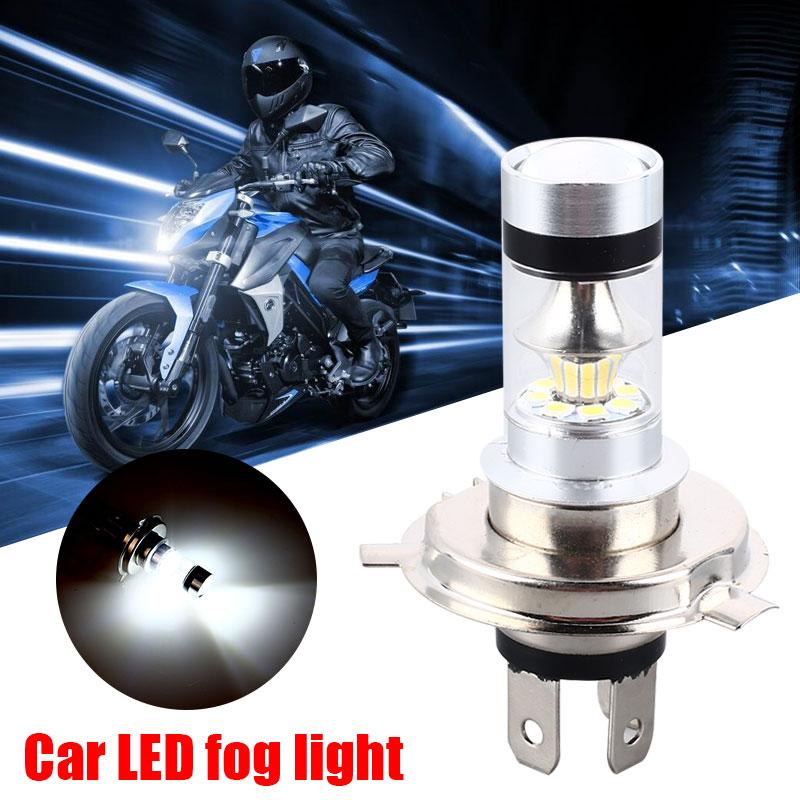 Auto H4 100W Headlight Motorcycle Modified Headlight White Lamp Car Light Bulbs