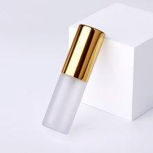 100 Pçs/lote 5ml Perfume Atomizador Frasco De Spray Frasco de Vidro Fosco Cosméticos Portátil