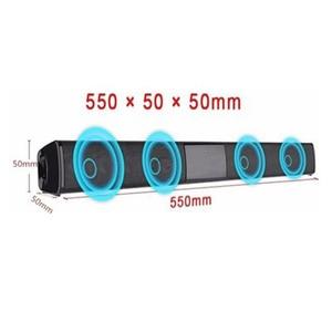Image 4 - 20W בית טלוויזיה רמקול אלחוטי Bluetooth רמקול רצועת רמקול נייד מוסיקה נגן סטריאו בס קול Systemwith FM רדיו רמקול