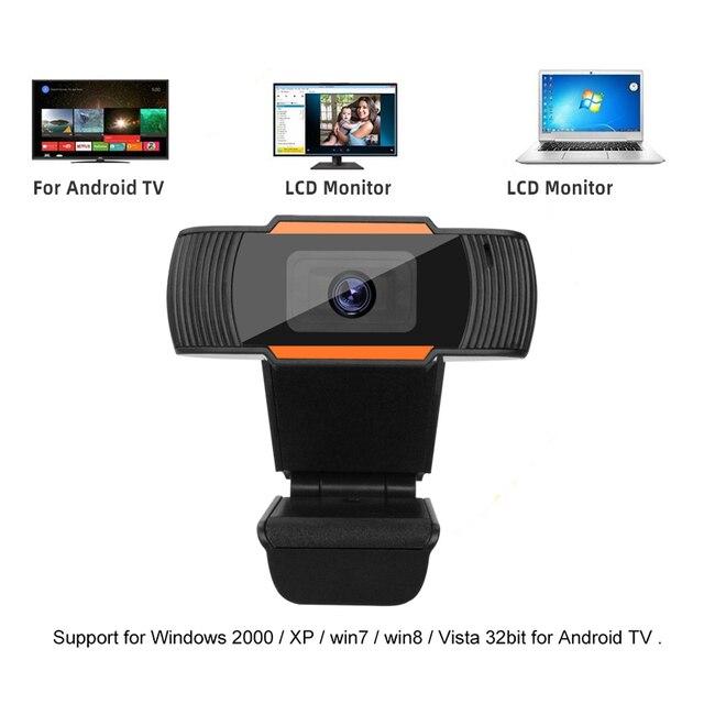 Webcam 1080p 720p 480p câmera da web completa de hd microfone embutido usb rotatable plug webcam para computador pc mac computador portátil desktop 4
