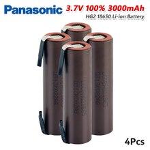 파나소닉 1/2/4/6/8/10x3.7 v 충전식 18650 배터리 3000 mah 리튬 이온 pila max 20a (전조등 손전등 용 니켈 포함)