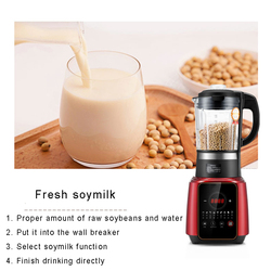 Automatyczne ogrzewanie łamania ścian maszyna sokowirówka gospodarstwa domowego urządzenie do gotowania sokowirówka maszyna do mleka sojowego wyciskacz do pomarańczy w Sokowniki od AGD na