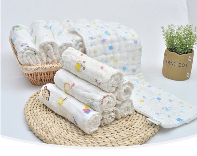 Baby Gauze Water Wash Diapers Pure Cotton Washable Newborn Products Baby Cotton Gauze Breathable Diapers