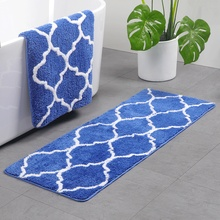 Water Absorption Rug Kitchen Non Slip Baby Kids Crawling Mat Bedroom Carpet beach tidewater pattern water absorption area rug