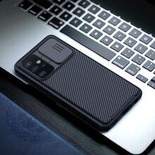 Do Samsung Galaxy A52 5G skrzynki pokrywa NILLKIN CamShield Pro przypadku slajdów kamery ochrony prywatności przypadki telefonów dla Samsung A52 4G przypadku