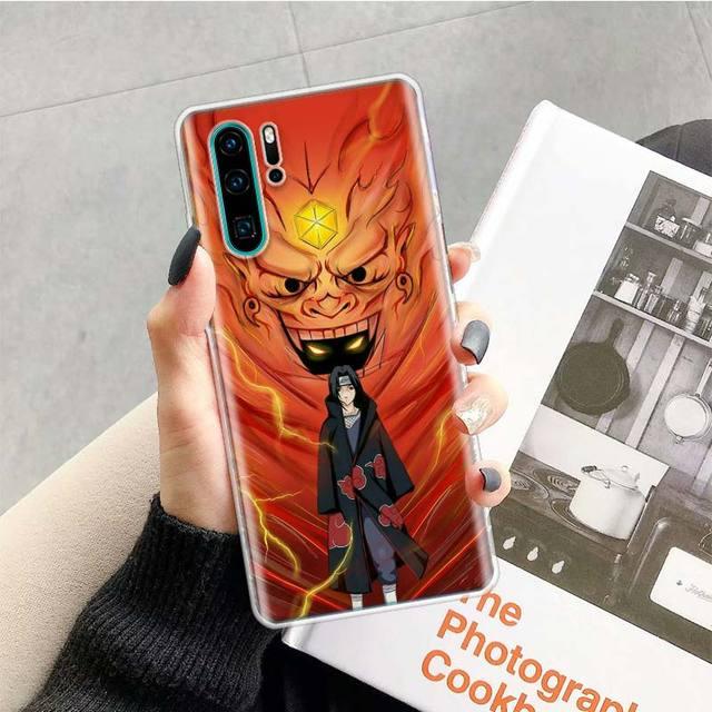Anime Naruto Haruno Sakura skrzynka dla Huawei P20 P30 P40 P inteligentny Z + P10 Mate 30 10 20 Lite Pro silikonowa powłoka telefon Coque okładka