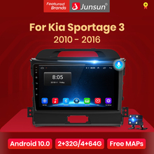 Junsun V1 Pro 2G 128G Android 10 Voor Kia Sportage 3 2010 2011 2012 2013 - 2015 2016 Auto Radio Multimedia Video Player Gps Dvd
