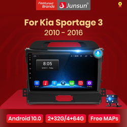Junsun V1 pro 2G+128G Android 10 For Kia Sportage 3 2010 2011 2012 2013 - 2015 2016 Car Radio Multimedia Video Player GPS DVD