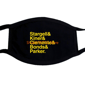 Pittsburgh Home Run Stargell Kiner Clemente Mask image