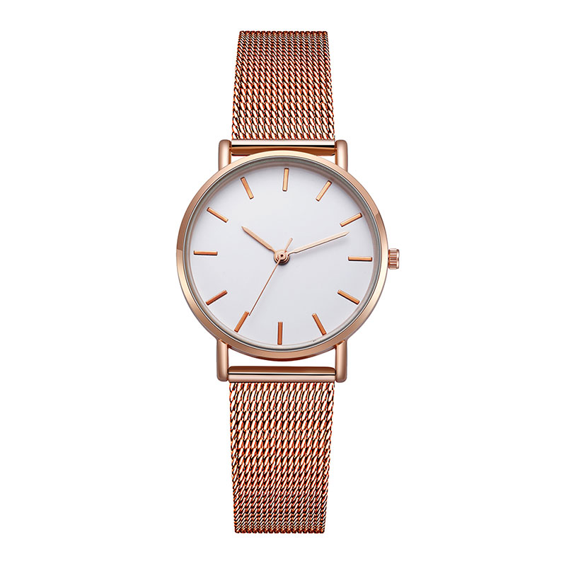 Women Watches Quartz Small Dial Delicate Fashion Mesh Stainless Steel Dress Watches Luxury Business WristWatch Reloj