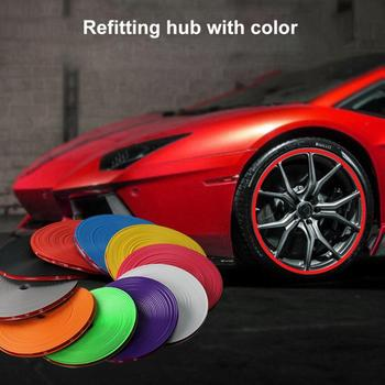 Tire Stickers Car Wheel Change Decorative Wheel Stickers Anti-Collision Tire image