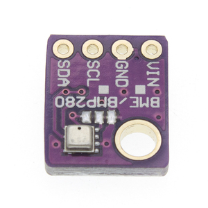 Image 5 - 100 stücke BME280 Digital Sensor Temperatur Feuchtigkeit Luftdruck Sensor Modul I2C SPI 1,8 5V GY BME280