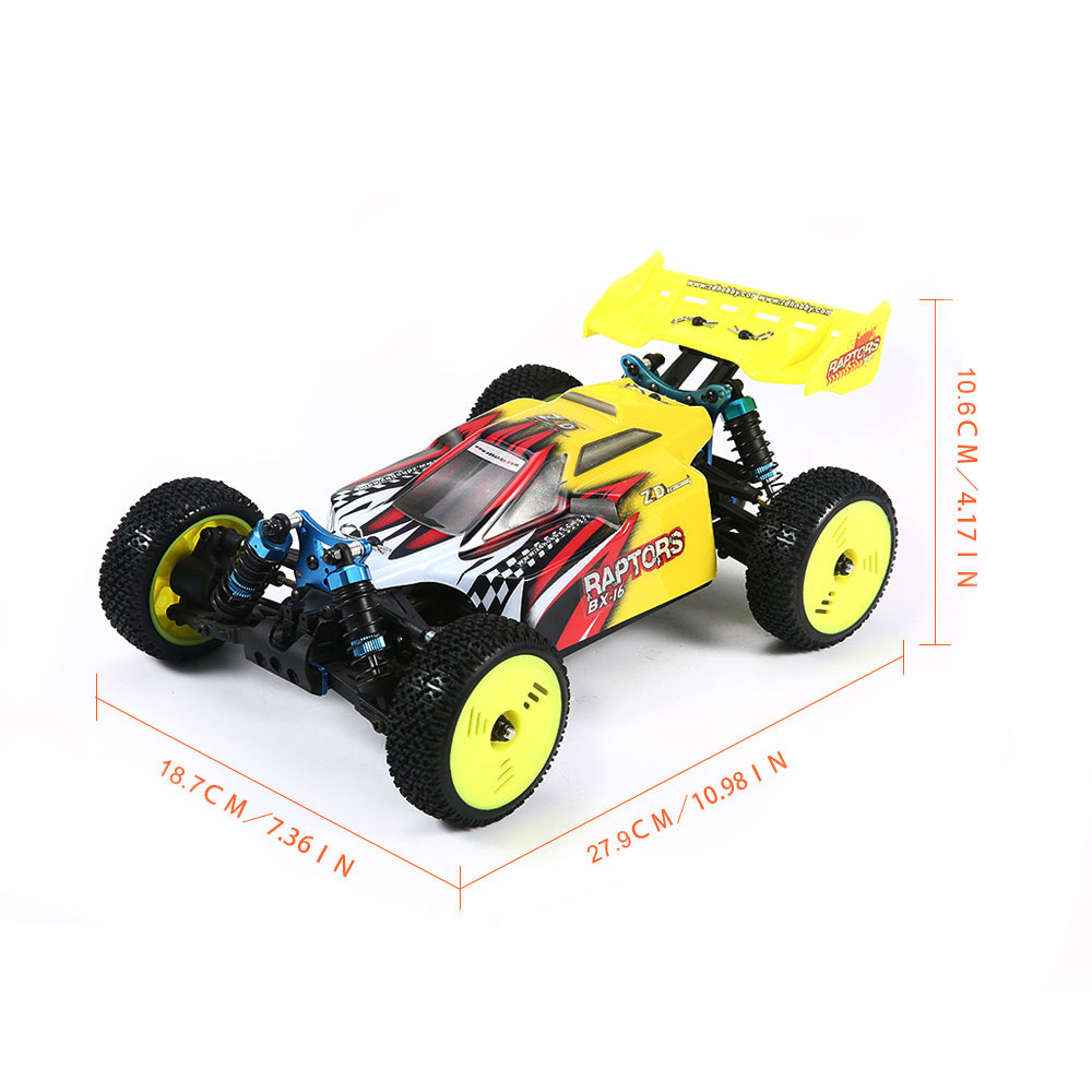 RC Car High Speed 60KM/H 1:16 Racing Climbing Car 2.4G Remote Control Toy Cars On The Radio Controlled 4x4 Drive Off Road Toys - 4