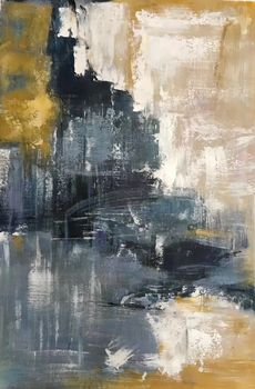 HandPainted Wall Art Oil Painting on Canvas Modern Abstract Canvas Oil Painting Wall Picture Painting for Living Room Decoration
