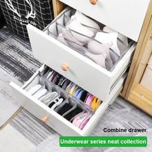 Organizery szuflad torba do przechowywania bielizny bielizna pudełko do przechowywania biustonoszy szafa do przechowywania artefaktów skarpetki do sypialni tanie tanio CN (pochodzenie) NYLON Honeycomb compartment white pink storage bag Shape nylon mesh bedroom storage storage of underwear underwear and socks