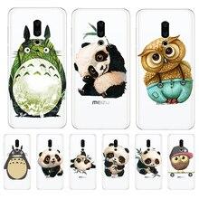 Totoro Panda cartoon For Meizu M3S M5 M5S M5C M6 M3 Note U10 U20 phone Case Cover Coque Etui capa Funda shell capinha CUTE