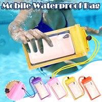 Funda de teléfono Universal impermeable, bolsa a prueba de agua, bolsa del teléfono móvil, cubierta de buceo a la deriva, bolsa de natación, cubierta de teléfono seco bajo el agua