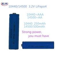 AA AAA Batteria Ricaricabile 3.2V LiFePo4 10440 14500 Batterie con 2 Slot Per Smart Caricatore Intelligente Caricatore Batterie per Fotocamere