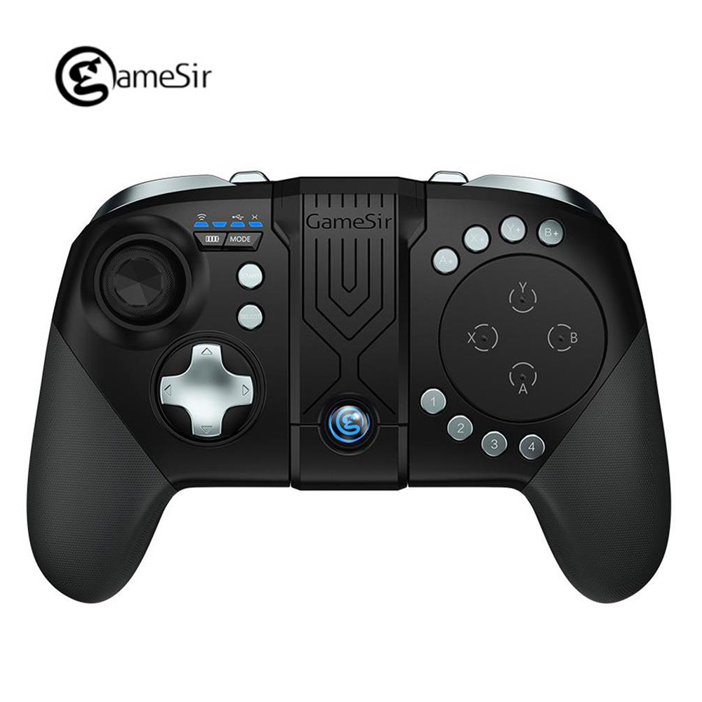 GameSir G5 Bluetooth 5.0 Gamepad Mobile Controller Wireless Trackpad Touchpad With Bracket Joystick For Pubg Android Fortnite