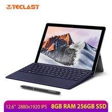 """Máy tính bảng Teclast X6 Pro 12.6 """"8GB RAM 256GB SSD Laptop SIÊU NÉT FULL HD 2880x1920 Intel Core M3 windows 10 2 trong 1 Máy Tính Bảng"""