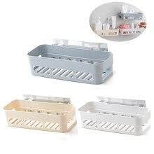 Estante de baño, estante de almacenamiento adhesivo para baño, ganchos, decoración del hogar, cocina, esquina, estante de ducha, estante de almacenamiento, accesorios