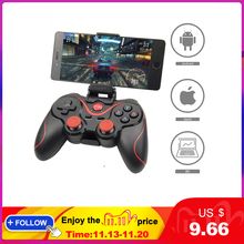 סיטונאי Terios T3 X3 Wireless ג ויסטיק Gamepad בקר משחק bluetooth BT3.0 ג ויסטיק עבור טלפון נייד Tablet טלוויזיה תיבת בעל