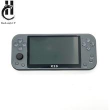 Console de jeu vidéo portable X20 avec écran de 5 pouces, 8 go/40 go avec 2000 jeux gratuits pour émulateurs megadrive/ps/mame