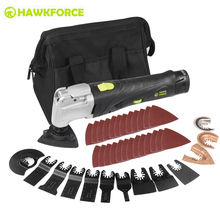 12V Li ion Cordless Multi Tool 6 Speed Multifunctional Oscillating Tools Kit Electric Trimmer Quick Change Accessory Power Tools