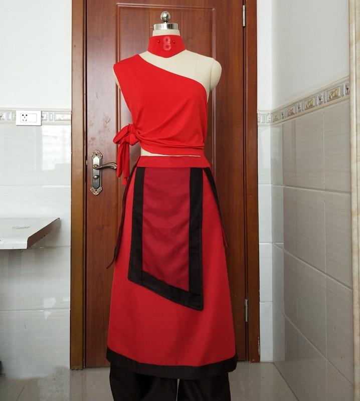 Avatar:The Last Airbender Katara Cosplay Costume Dress Adult Women's Halloween Carnival Costumes fancy dress