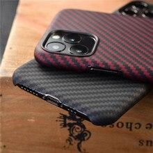 Funda protectora de fibra de carbono para apple iphone 11 pro max, cubierta trasera XS X XR, parachoques, marca de lujo disign