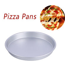 7-inch, 8-inch, 9-inch non-stick circular pizza tray, barbecue baking tray, cake mold, pizza baking tray, non-stick cake T5(China)