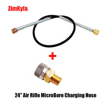 "24 ""Air RIFLE MicroBore ท่อชาร์จ QUICK RELEASE Coupler 1/8 BSP หญิง (QC02)"