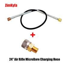 "24"" Air Rifle MicroBore Charging Hose Quick Release Coupler 1/8 BSP Female(QC02)"