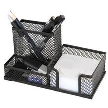 Металлический офисный Настольный держатель ручки Органайзер офисный домашний канцелярский чехол для хранения