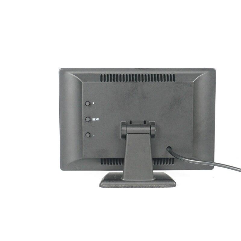 GSPSCN Auto Einparkhilfe 5 inch Rückansicht Monitor + Auto Umkehr Rückspiegel Backup Kamera Infrarot kamera