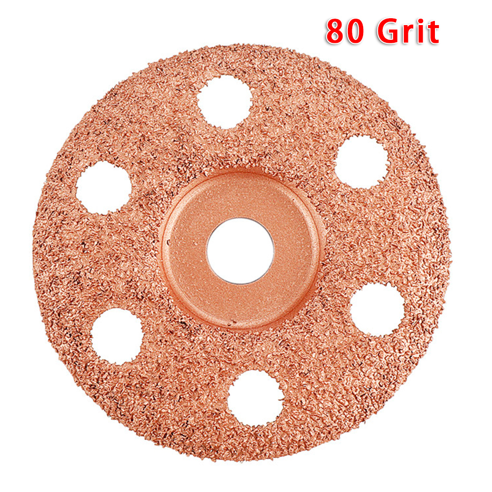 Angle Grinder Grinding Wheel Carving Disc Polishing Woodwork Tool 40-120 Grit Power Tools Replacement Parts